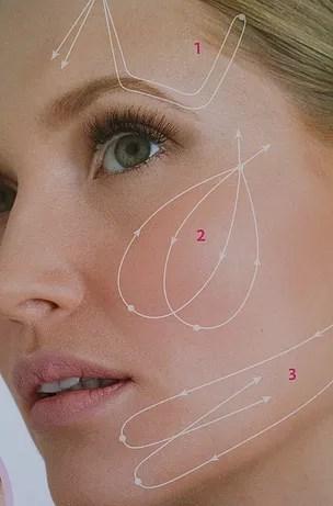 מתיחת פנים וצוואר בשיטת Aptos - פנים של אישה
